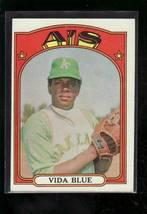 1972 TOPPS BASEBALL CARD#169 VIDA BLUE  EX++NM+ A'S ACE - $3.00