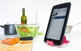 Original Design Gadget Stands IPad Tablet iPhone Kitchen Pot Lid Racks H... - $18.42