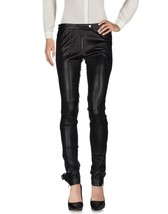 Trendy Casual Formal Classic Fit Style Women's Genuine Soft Skin Leather Pants