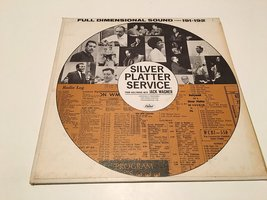 SILVER PLATTER SERVICE SIDES 191 AND 192 VINYL LP RECORD ALBUM [Vinyl] J... - $49.07