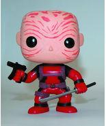 Pop Marvel Maskless Deadpool Vinyl Bobble Head - Red Costume - $14.89