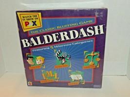 Mattel Balderdash The Classic Bluffing Board Game 2003 New Sealed (R) - $44.54