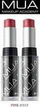 Intense Color Moisture Balm #315 Pink Mua Make Up Academy (Set Of 2 New/Seale... - $9.99