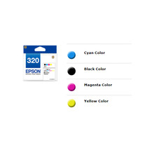 Epson 320 Black, Cyan, Magenta and Yellow Ink Cartridges (for PM-401) - $55.99