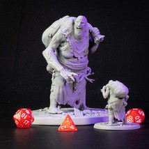 Forest - Granny - Monster - 3D - Printed HQ - Resin Miniature - Unpainted - Dung - $14.99