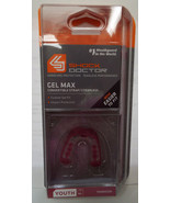 Shock Doctor Gel Max Convertible Strap / Strapless Youth 10- in Maroon NIP - $10.93