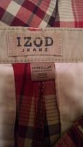 Women's Izod plaid shorts sz 16 sec495 - $14.90