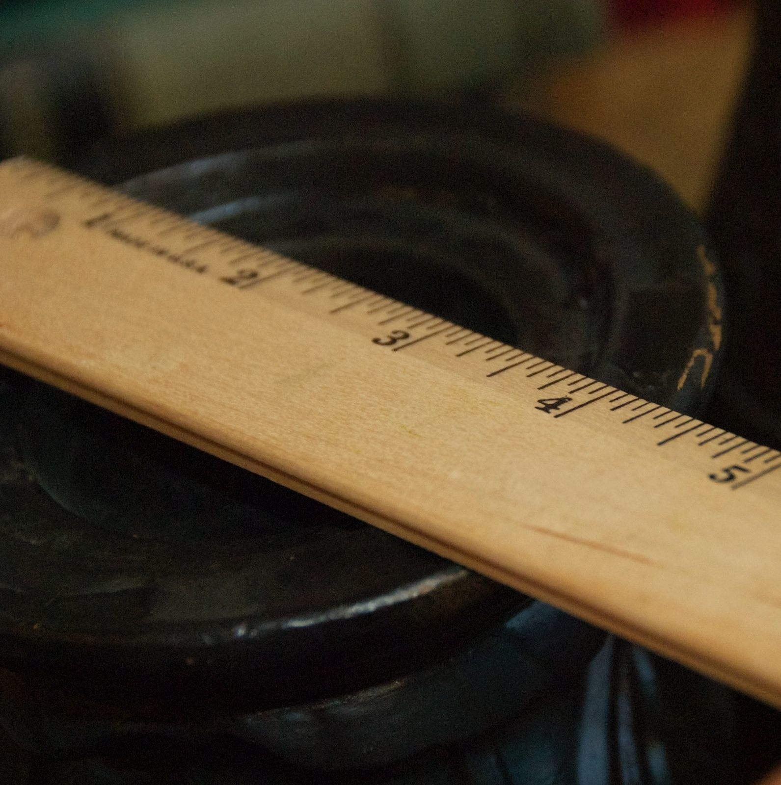 "VINTAGE LENOX PILLAR CANDLE HOLDER CERAMIC BLACK GOLD ART NOUVEAU NEEDS TLC 7"" H"