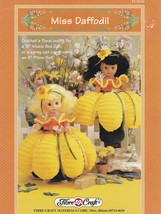 Miss Daffodil, Doll Clothes Fibre Craft Crochet Pattern Booklet FCM345 - $4.95