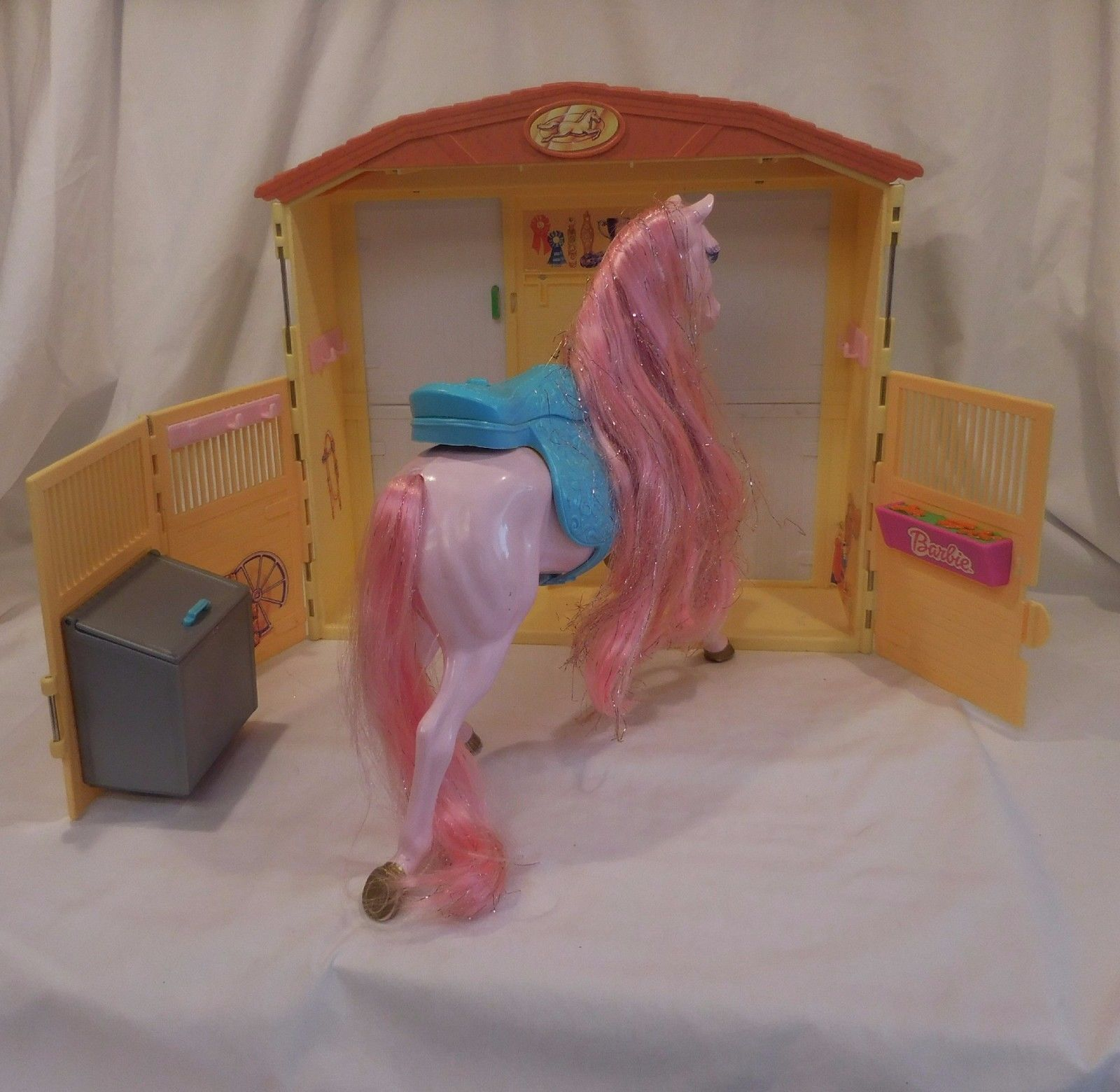 Barbie Doll Horse Stable Magical Sounds Barn And 23 Similar Items