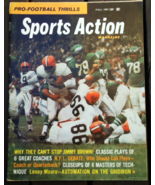 Fall 1961 -Sports Action -Jimmy Brown -Cleveland Browns - Bobby Layne-St... - $20.95