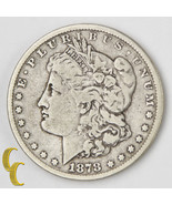 1878 Carson City Morgan Silver Dollar $1 (F) Fine Condition - $157.73 CAD