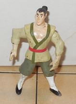 1998 Mcdonalds Happy Meal Toy Disney Mulan Li Shang Action Figure back - $2.00