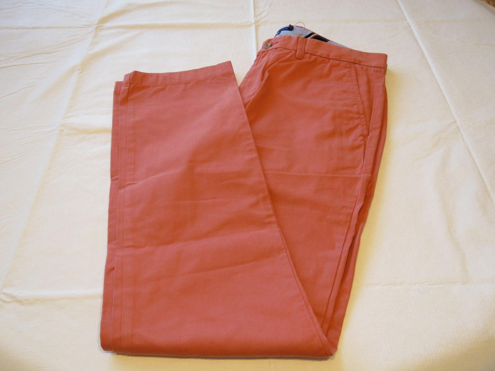 Stretch Twill Fabric Size 32-40 Tommy Hilfiger Men/'s Chino Pant NO TAX