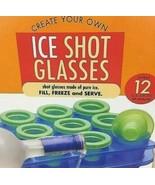 Lush Life ~ Ice Shot Glasses ~ 12 Shots ~ Pour ~ Freeze ~ Serve - $17.42