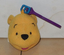 1999 Mcdonalds Happy Meal Toy Winnie The Pooh Plush Clip On Pooh - $2.00