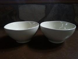 Gorham Barela Bowl (2) Cafe Latte? Ivory Beige - $20.00