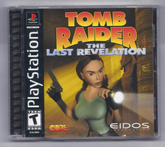 Tomb Raider: The Last Revelation (Sony PlayStation 1, 1999) - $18.56