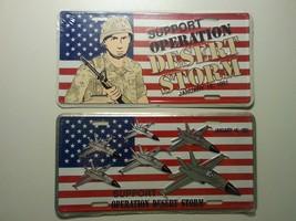 Support Operation Desert Storm License Plate (2... - $20.00