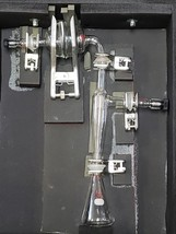 Ace Glass Lab Glassware Apparatus w/ Clamps & Case - $386.05