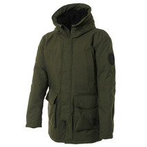 Adidas Originals Heavy Parka Hooded Down Jacket Winter Sportswear Khaki ... - $229.99+