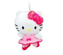 Hallmark Hello Kitty Pink Dress Ballerina Ornament Brand New NIP  - $8.90