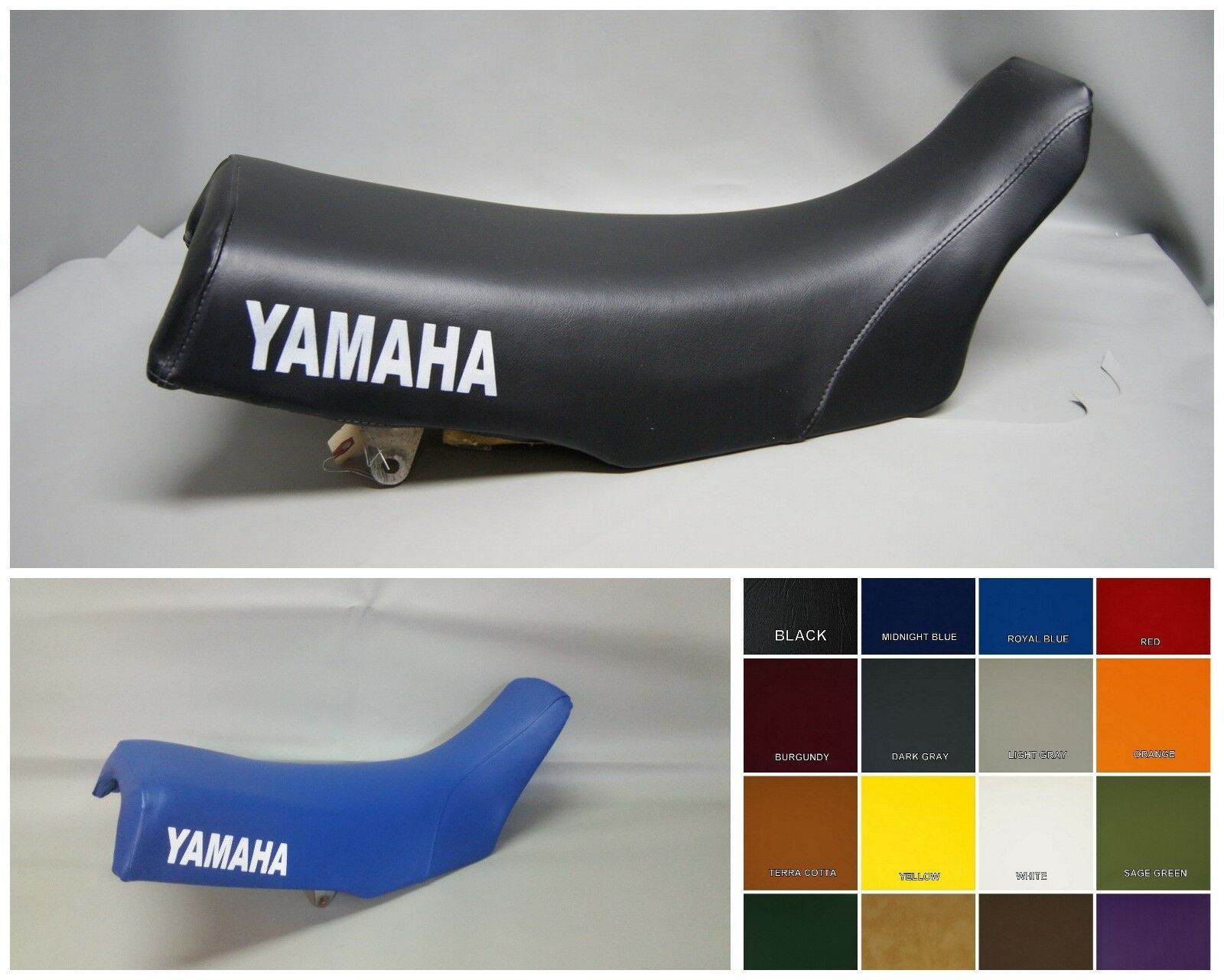 Primary image for Yamaha YZ Seat Cover YZ490  1983 1984 1985   in 25 COLORS   (YAMAHA SIDES)