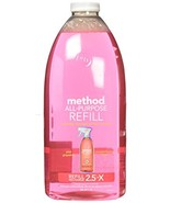 Method All Purpose Cleaning Spray 68 Fl Oz, Pink Grapefruit, Refill Bottle - $16.05