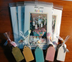 Sweet Signs of Spring WITH TAGS cross stitch kit Faithwurks  - $25.20