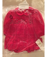 Gorgeous Red Smocked Baby Girl Dress & Bloomers Set, Carriage Boutique - €37,36 EUR