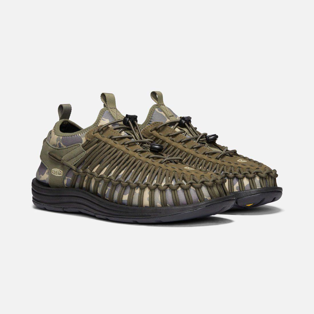 Keen Uneek HT Size US 7 M (B) EU 37.5 Women's Sport Sandals Olive / Camo