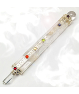 Haunted FREE W $200 14X AURA CLEANSING ALIGNMENT WAND MAGICK CRYSTAL GEM... - $0.00