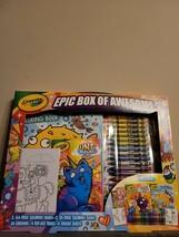 Crayola Epic Box Of Awesome - $12.82