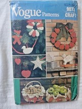 Vintage vogue christmas craft uncut sewing pattern - $3.50
