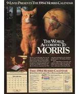 Morris AD Map Globe 1983 Calendar Premium Photo Illustration Wall Decor ... - $14.99