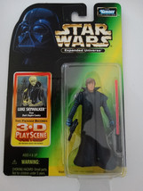 1998 Star Wars Expanded Universe Luke Skywalker 3D Playscene Action Figure - $18.00