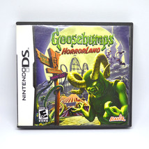 Nintendo DS Video Game GOOSEBUMPS Horrorland 2008 Pre-Owned Complete w M... - $16.99