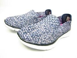 Skechers  Equalizer Vivid Dream Slip On Walking Womens Shoe Navy/White S... - $38.69