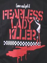 In4mation Hawaii Mens Black Come and Get it Fearless Lady Killer T-Shirt NWT image 3