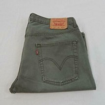 """Levi Strauss 624 Relaxed Fit Jeans Shorts Waist 36"""" Leg 11"""" Zip Fly (M5925) - $12.07"""