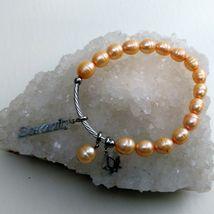 Fresh Water Pearl Stretch Serenity Bracelet image 3