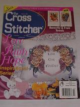 Cross Stitcher Magazine February 2001 21 Charts Precious Moments Valentine Bunny - $8.10
