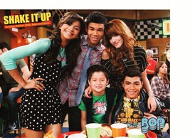 Shake it up cast teen magazine pinup clipping Zendays Bella Thorne Roshon Bop