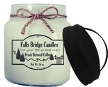 Fresh Brewed Coffee Scented Jar Candles, 16-Ounce, Handle Lid