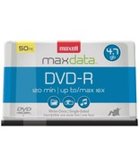 Maxell 638011 4.7GB 120-Minute DVD-Rs (50-ct Spindle) - $37.72