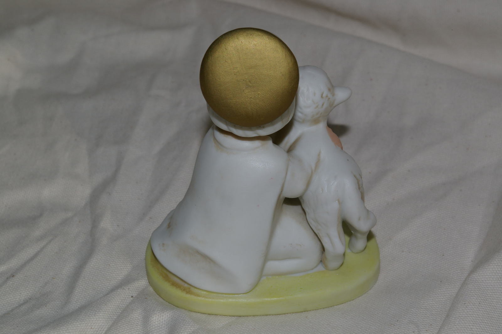 Homco Angel With Lamb Figurine 5605 Home Interiors