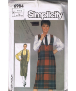 Simplicity 6984 Misses Easy to Sew Jumper and S... - $5.00