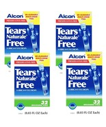 Tears Naturale Alcon Free Lubricant Eye Drops 32 Vials 4 Boxes EXP. 2020 - $55.50
