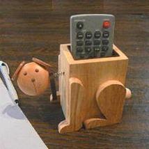 Dog - Wood Eyeglass Holder / Remote Control Caddy (CAD201) - $10.00