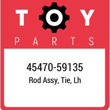 45470-59135 Toyota Rod Set Tie Lh, New Genuine OEM Part - $58.90